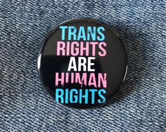 trans pin, trans pride pin, transgender button