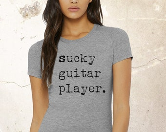 Guitar Player T Shirt | Music Lover's Shirt | Guitar Player Shirt | Guitar Shirt | Music Lover Gift | Musician Gift | Music Teacher Gift