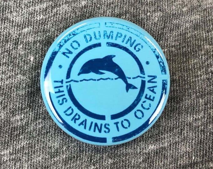 Sea Shepherd Button, Save Sea Pin, Ocean Awareness Button, Whale Button, Save Earth Button, Animal Rights Button, Save The Planet Button
