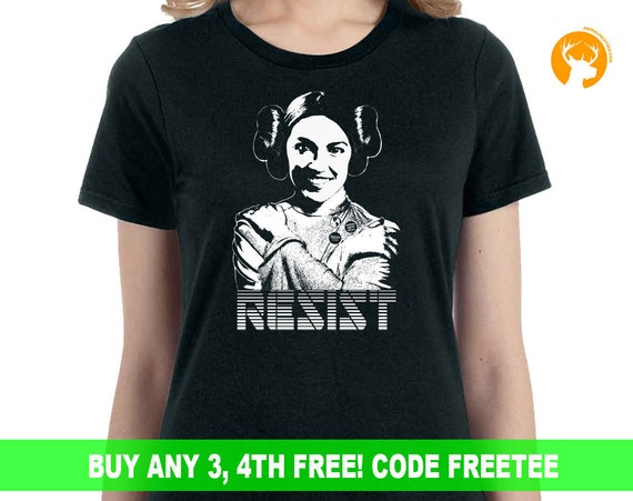 Alexandria Cortez Feminist Funny Resist Shirt, Star Wars Funny Shirt, Gift For Her , Gift For Him