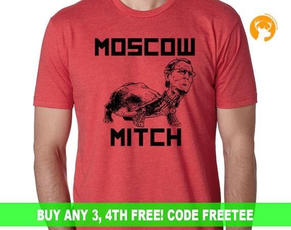 Mitch is Trump's Bitch Shirt | Resist Trump | Anti Trump Shirt | Resist Shirt | Feel the Bern | Political Shirt | The Resistance |