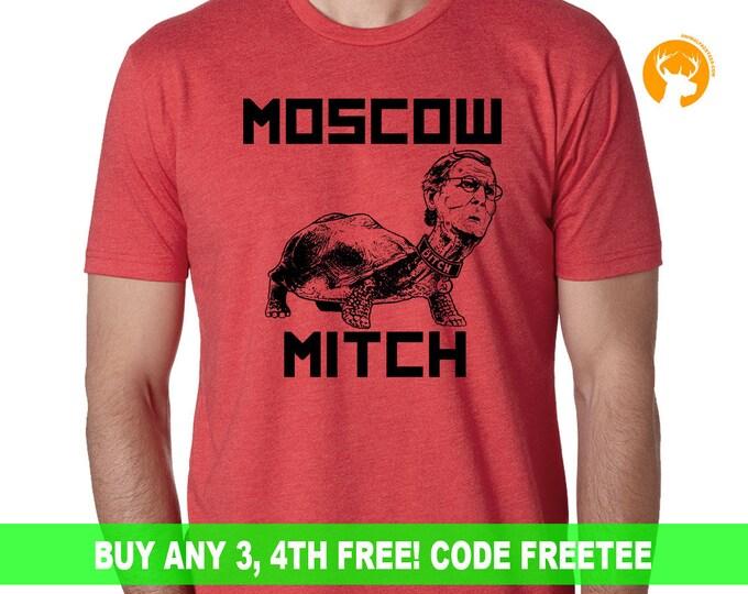 Anti Trump Shirt, Resist Shirt, Political Shirt, Donald Trump Shirt, Protest Shirt, Dump Trump Shirt, Mitch Is Trump Bitch Shirt, Election