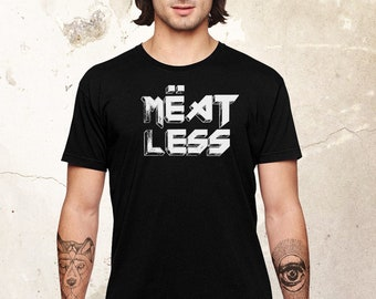 Vegan Funny Shirt, Animal Rights Shirt, Heavy Metal Shirt, Veganism Shirt, Funny Vegan Shirt, Vegan Gift, Rock Band Tee