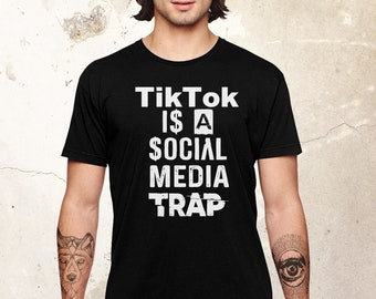 Social Media Shirt, Funny Shirt, Facebook Shirt, Instagram Shirt, Social Media Gift, Youtube Shirt, Gift For Her, Influencer Shirt, Tik Tok