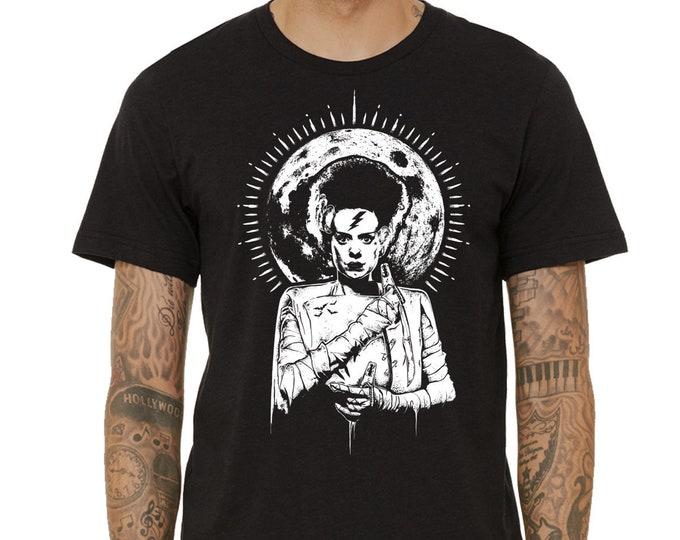 The Bride Of Frankenstein Shirt, Halloween Shirt, Horror Movie Shirt, Monster Shirt, Mary Shelley Shirt, Halloween Gift, Universal Monsters