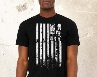 USA Men USA Tshirt, American Flag Shirt, Patriotic Shirt, 4th Of July Gift, USA Flag Shirt, Independence Day Shirt, Black Lives Matter Shirt