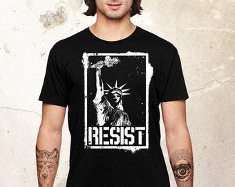 Statue Of Liberty Shirt, Resist Shirt, Anti Bidden Shirt, Protest Shirt, Political Shirt, Daunte Wright Black Lives Matter Shirt, New York