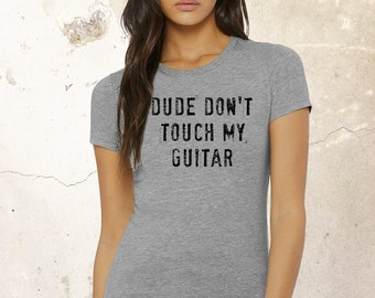 Guitar T-Shirt, Funny Music T-shirt, Rock N Roll Tee, T shirts for Musicians, Gift
