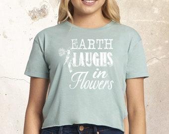 Garden Shirt, Women Shirt, Gardening Gift, Farmer Shirt, Funny Shirt, Flowers Saying Shirt, Bird Shirt, Ladies Shirt, Spring Shirt, Plant