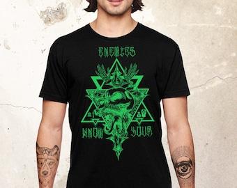 Skull Shirt, Tattoo Shirt, Resist Shirt, Skull Tshirt, Protest Shirt, Unisex Shirt, Resistance Shirt, Ladies Shirt, Skeleton Shirt,Skull Tee