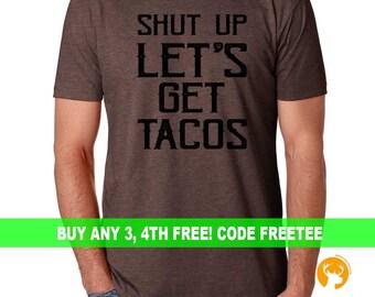 Vegan tacos shirt,  Humor Gift, Mexican shirt, Dad shirt, mom shirt