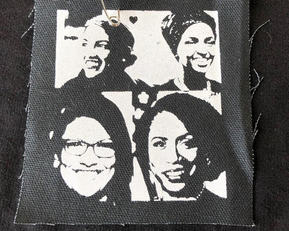 The Squad Small Patch / AOC Patch / Future Female / The Resistance / Feel The Bern