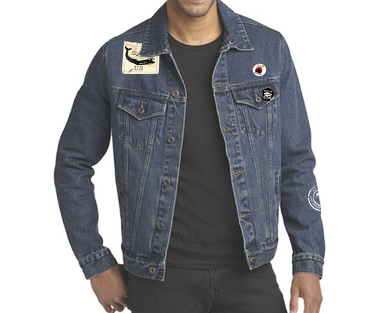Denim Jacket | Patch Jacket | Protest Jacket | Save the Earth | Eco-Friendly Denim | Water Protector