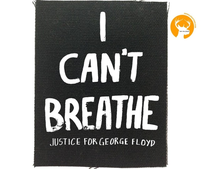 George Floyd back patch, Justice Back Patch, The System Has Failed Us, Resist Patch, Protest Patches,  Canvas Back Patch