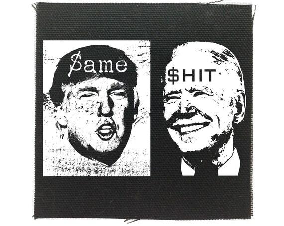 Funny Trump  Biden Small Patch, Not My President, Impeach, No Trump, Resist