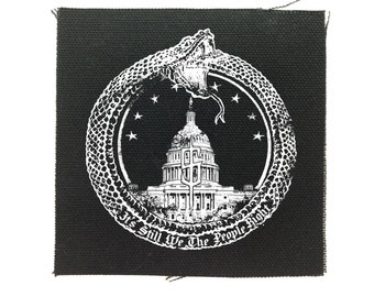 We The People Patch, Political Patches, Protest Patch, Resistance Patch, Punk Patches