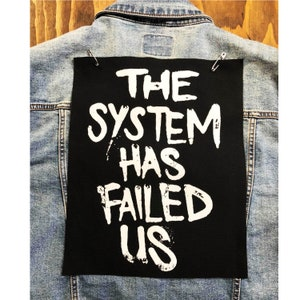 Punk Patch Resist Patch Resistance Patch Nation Of Sheep Ruled By Wolves Owned By Pigs Patch Political Patches Anti-Establishment Patch