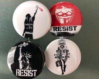 Resist Button Pack, Anti Trump Buttons, Resist Buttons, Protest Button, Resistance,