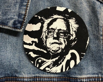 Bernie Sanders peace patch bernie 2020, Bernie Patch, Resist, Tulsi Patch, circle patch