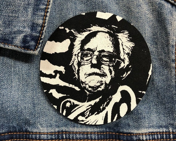 Bernie Sanders peace patch bernie 2020, Bernie Patch, Resist, Tulsi Patch, circle patch