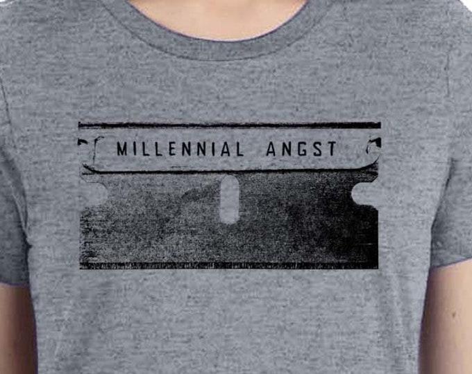 Punk Shirt, Funny Millennial Shirt, Razor Blade Shirt, Childless Millennial Shirt, Anti Resist Shirt, Protest Shirt, Punk Clothing, Sassy