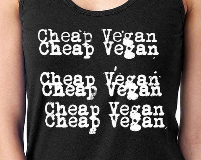 Funny Vegan Shirt, Cheap Trick Vegan T-Shirt, Vegetarian Shirt, Vegan Gift, Vegan Clothing, Funny Vegan Gift, Cheap Vegan Wear, Vegan Tee