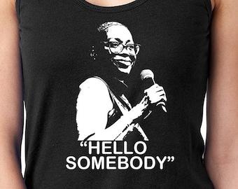 Nina Turner Shirt, Hello Somebody Shirt, Election Day Shirt, Resist Shirt, Bernie Sanders Shirt, Resist Tank, Protest Shirt,Nina Turner Tank