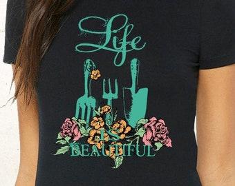Beautiful Life Shirt, Mother Shirt, Mom Life Shirt, Mom Club Shirt, Mom Shirt, Mommy Shirt, Mama Shirt, Beautiful Mothers Day Gift, Summer