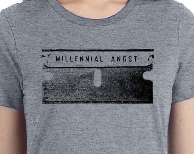 Punk Shirt | Millennial Shirt | Anti Resist| Razor blade Shirt | Funny Millennial Shirt