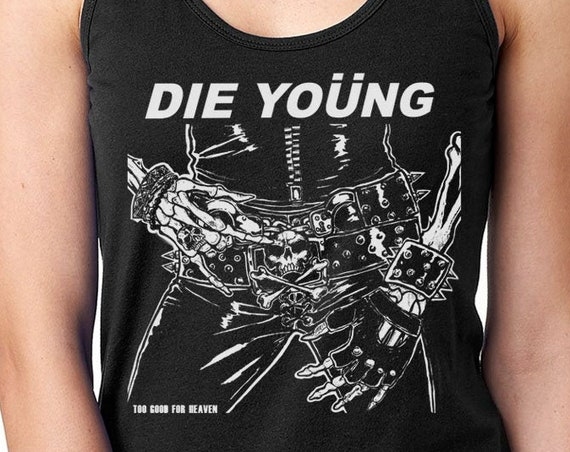 Motley Crue Die Young T Shirt | Motley Crue | Rock T Shirt | Music Band T Shirt | Shout at the Devil | Rock Tee | Tour