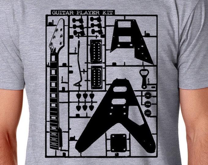 Guitar T Shirt |  Vintage Rock  Shirt | Music Lover's Shirt | Guitar Player Shirt | Guitar Shirt | Music Lover Gift | Musician Gift |