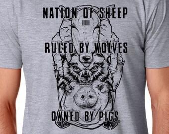 Liberal Political Shirt, Anti Establishment Shirt, Anti Trump Shirt, Protest Shirt, Statement Shirt, Resist Shirt, Dump Shirt, Feminist Punk