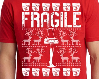 Fragile Funny Christmas Story Shirt, Movie Shirt, Must Be Italian Shirt, Fra-Gee-Lay Shirt, Christmas Fragile Shirt, Christmas Tee,Xmas Gift
