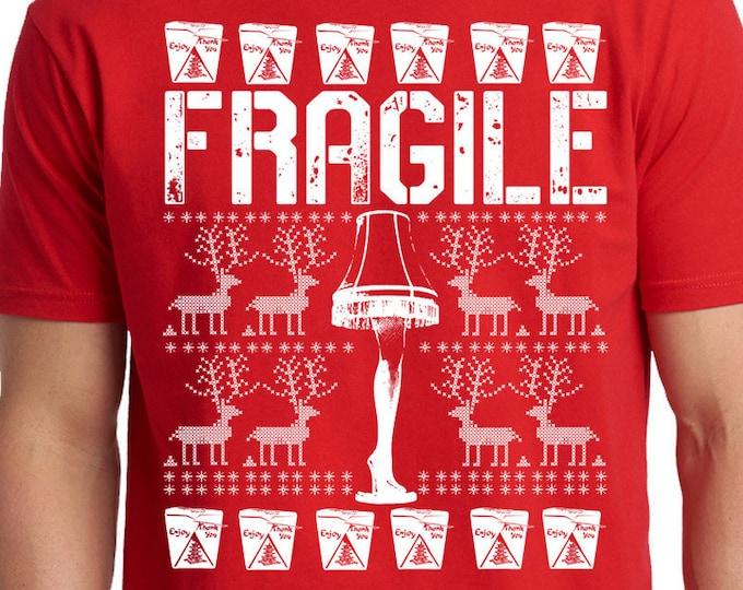 Fragile Funny Christmas Story Shirt, Movie Shirt, Must Be Italian Shirt, Fra-Gee-Lay Shirt, Christmas Fragile Shirt, Christmas Tee,Xmas Gift