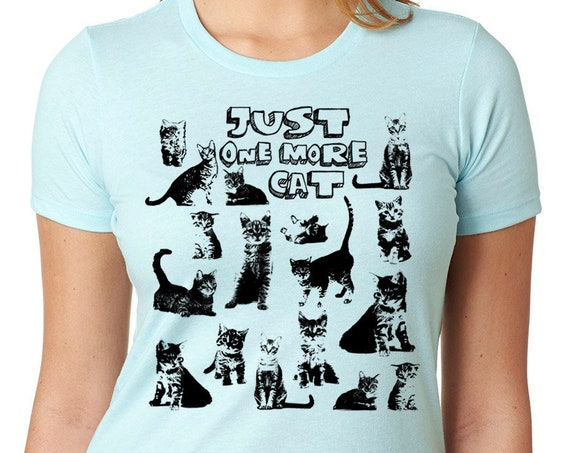 Cat shirt funny T -shirt, Cat gift, Animal Gift for mom, ladies Gift
