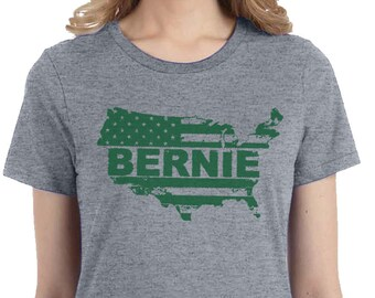 Bernie Sanders Green New Deal Shirt, Bernie For President T-shirt, Political Tees, USA, America, Political Tee,