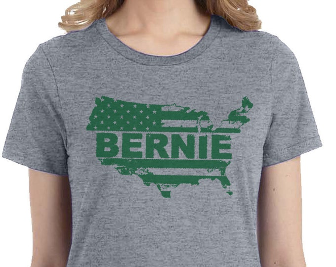 Bernie Sanders Green New Deal Shirt, Bernie For President T-shirt, Political Tees, USA, America, Political Tee,