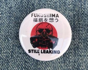 Save the Planet ,Anti Nuclear, Fukushima Button, No More Nuclear, Greenpeace, No Nukes