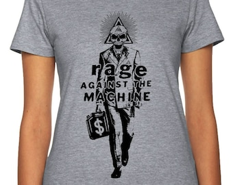 Rage Against the Machine Shirt | Anti-Corporate Greed | Protest Shirt | Political Statement Shirt | Anti-Greed | Political Gift