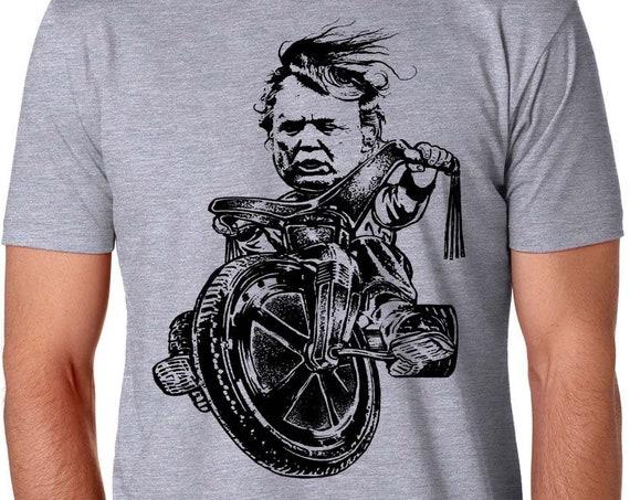 Man Child Trump T Shirt | Impeach Trump | Anti Trump | Resistance Shirt | Trump on a Big wheel | Political Shirt | Dump Trump