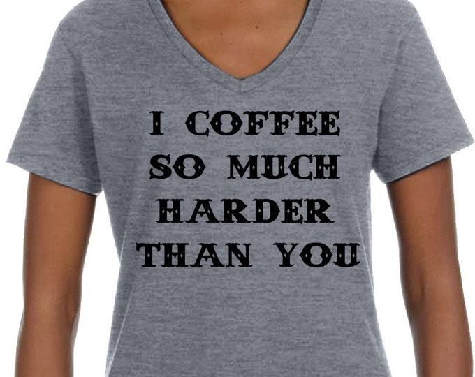 Coffee Funny Shirt, Black Coffee tshirt