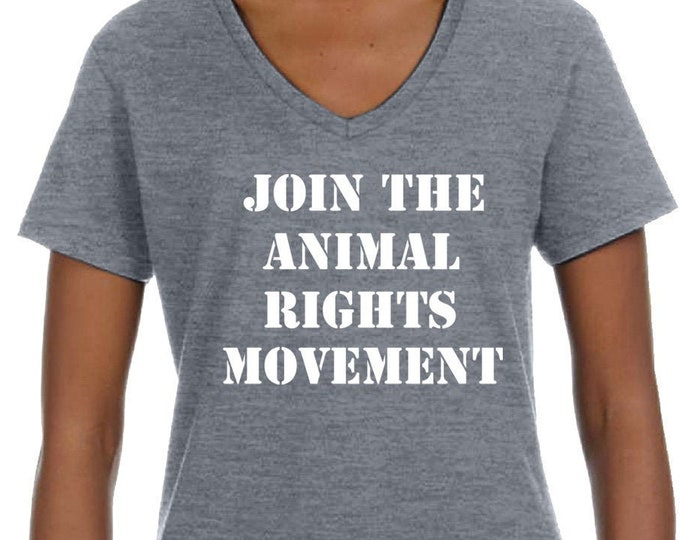 Animal Rights T Shirt | Vegan T Shirt | Vegetarian gift | Vegan Gift | Woman Ladies Gift |Friends Not Food Shirt