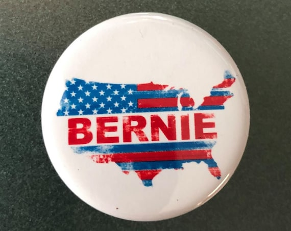 Bernie Sanders USA Button