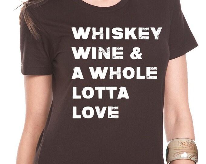 Whiskey funny shirt, Whiskey Tshirt, Funny Drinking Tshirts, Gifts ladies Mom
