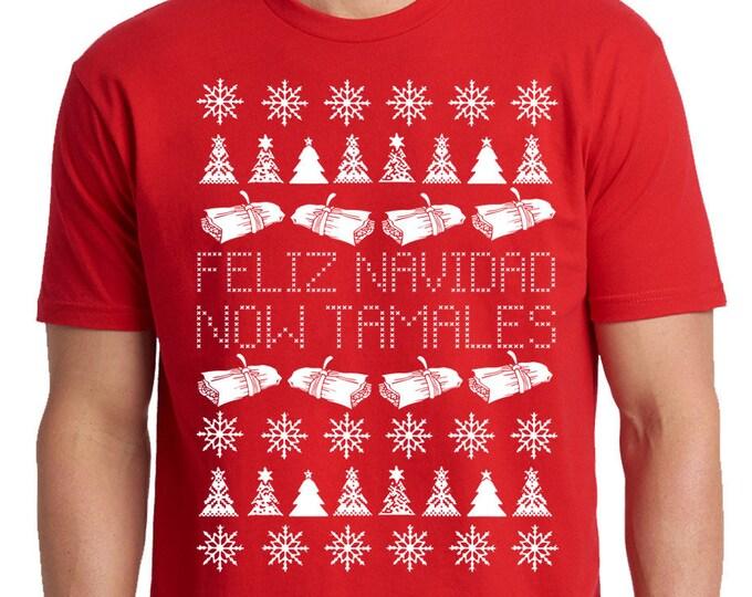 Christmas Tamale Shirt, Feliz Navidad Shirt, Holiday Shirt, Christmas Song Shirt, Jose Feliciano, Merry Christmas Shirt, Xmas Tamale Shirt