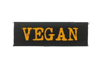 Vegan Patch, Animal Rights Patch, Vegan Gift, Embroidered Patch, Vegetarian Patch, Sew On Patch, Animal Liberation Patch, Punk Patch, Animal