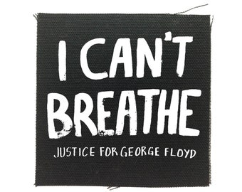 Black Lives Matter Patch, I Cant Breathe Patch, George Floyd Patch, Protest Patch, BLM Patch, Justice Patch, All Lives Matter Patch, Civil
