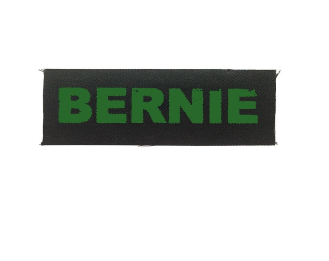 Bernie Sanders Patch, Small Cloth Patch, Resistance Patch, Protest Patch, Punk Patch, Denim Jacket Patch, Canvas Patch, Feel The Bern Patch