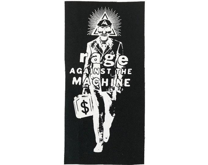 Rage Against the Machine Patch, Protest Patch, Punk Patch, Political Patch, Cloth Patch, Jean Jacket Patch, Rage Patch, Resist Patch