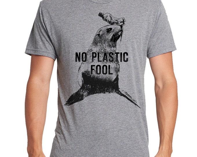Sea Shepherd Shirt, Save The Ocean Shirt, Eco Statement Shirt, No Plastic Shirt, Seal Shirt, Save The Planet Shirt, Environmental Shirt